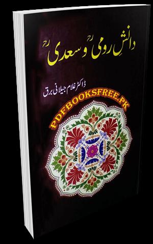 Danish e Rumi o Saadi by Dr. Ghulam Jilani Barq